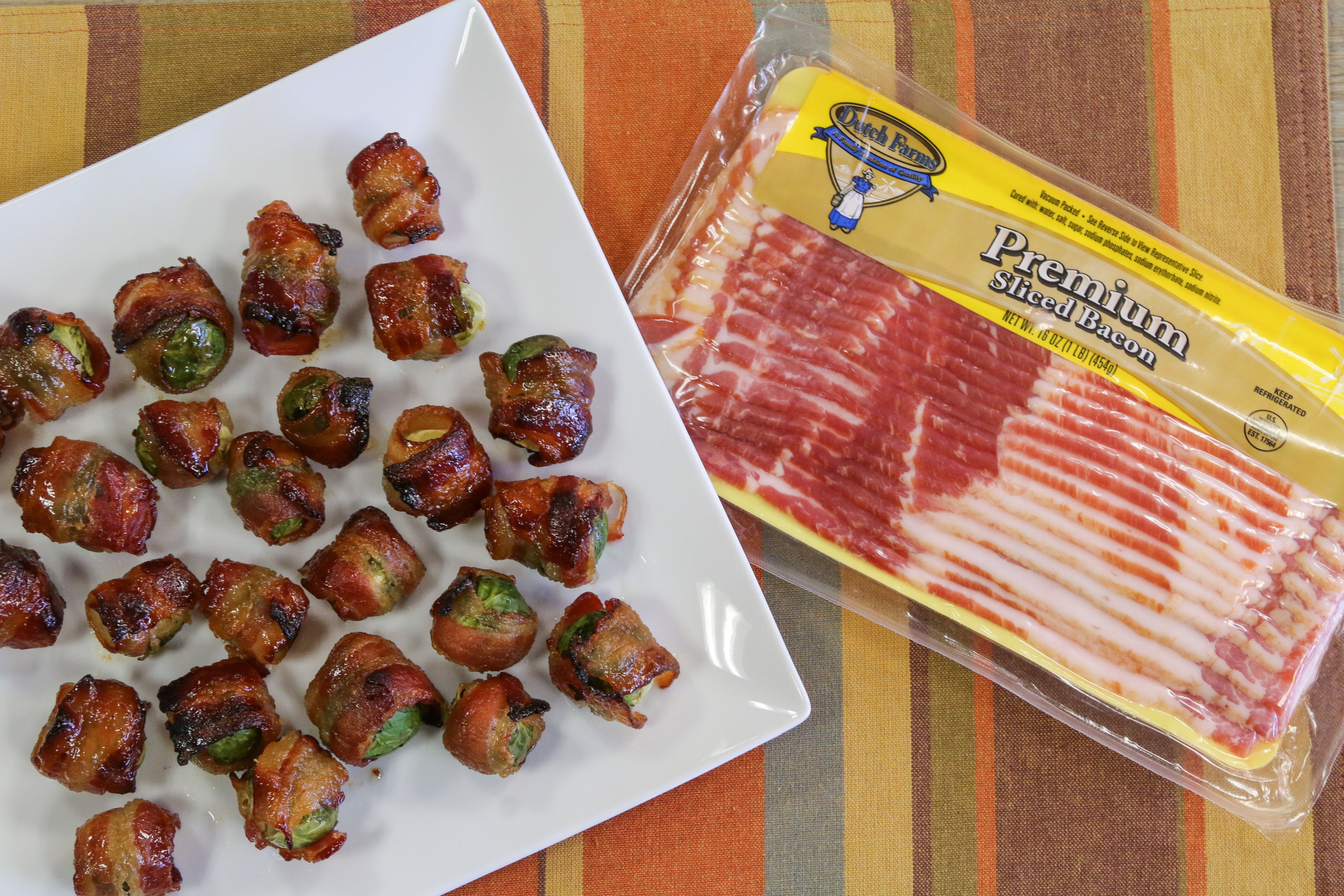 Dutch Farms 187 Bacon Wrapped Brussels Sprouts